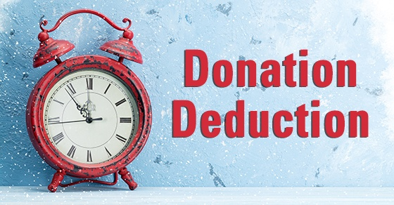 Check deductibility before making year-end charitable gifts