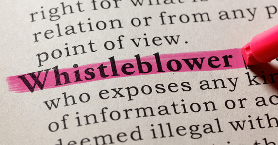 Does your nonprofit adequately protect whistleblowers?